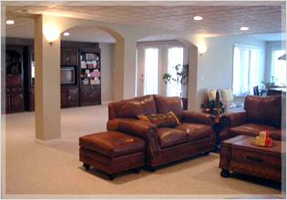 Basement Remodeling Baltimore Style finished basement contractors - new baltimore and macomb county mi